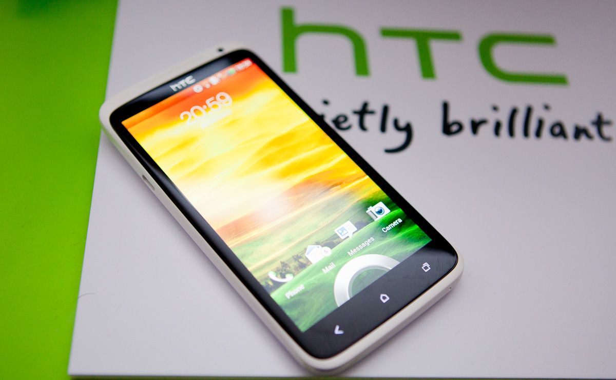 HTC One X @ MWC 2012